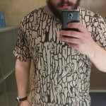 Joe camel camo 30 year vintage shirt