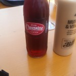 Hot damn #cheerwine in sf